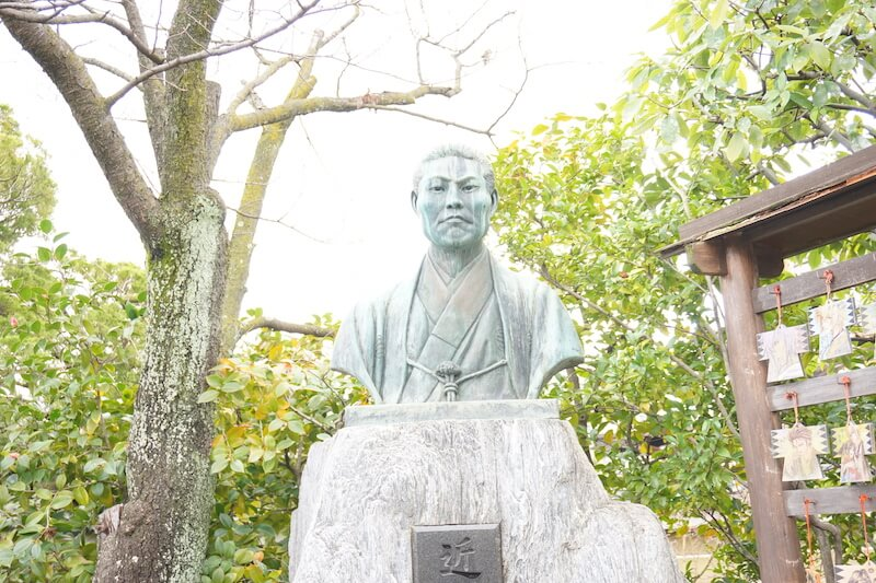 近藤勇石像アップ