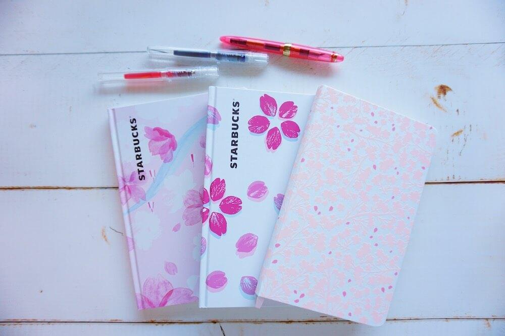 桜ノートたち