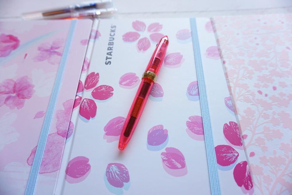 スタバ桜ノート